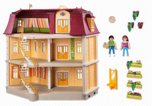 Playmobil 5302 - Groot Woonhuis - de binnenkant