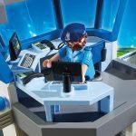 Playmobil 6919 - Politiebureau - bewakingskamer/uitkijkpost