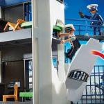 Playmobil 6919 - Politiebureau - uitneembare muur