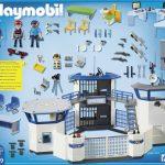 Playmobil 6919 - Politiebureau - achterkant doos