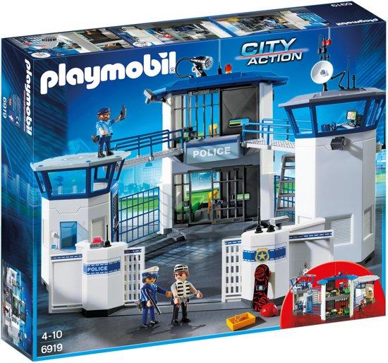 Playmobil 6919 - Politiebureau met gevangenis - doos
