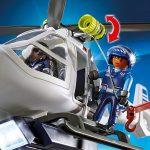 Playmobil 6921 - Politiehelikopter - zijlier met touw