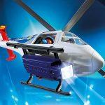 Playmobil 6921 - Politiehelikopter - (LED) zoeklicht