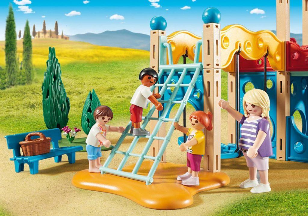Playmobil 9423 - Grote speeltuin - klimwand