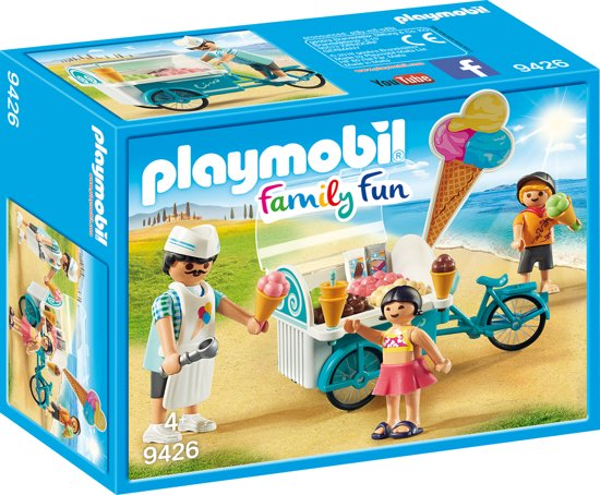 Playmobil 9426 - Ijsjesverkoper