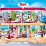 Het Playmobil Hotel van de binnenkant